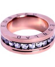 Edblad 79439 Ladies Saturnus rose vergulde ring met kristallen - size n (en)