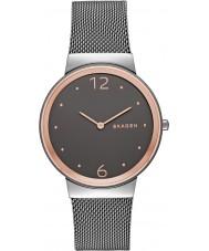 Skagen SKW2382 Ladies freja grijze stalen armband horloge