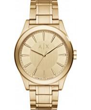 Armani Exchange AX2321 Mannen kleding vergulde armband horloge