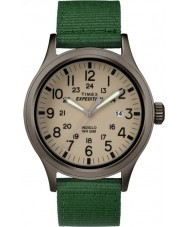 Timex TW4B06800 Mens expeditie scout groene stof Strap Watch
