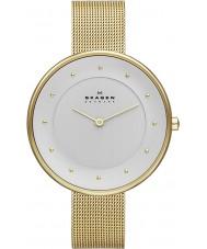 Skagen SKW2141 Ladies gitte gouden mesh horloge