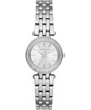 Michael Kors MK3294 Ladies mini Darci zilveren stalen armband horloge