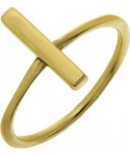 Nordahl Jewellery 125225-54 Dames goud vergulde speld ring - de grootte n