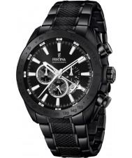 Festina F16889-1 Mens prestige zwart staal chronograafhorloge