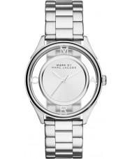 Marc Jacobs MBM3412 Ladies tether zilver toon stalen horloge