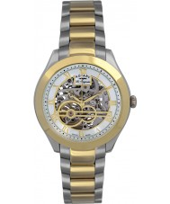 Rotary GB90515-10 Mens les originales jura zilver goud automatisch horloge