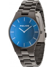 Police 14640MSU-70M Mens pracht gunmetal stalen armband horloge
