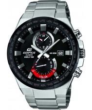 Casio EFR-542DB-1AVUEF Mens bouwwerk wereldtijd zilveren horloge