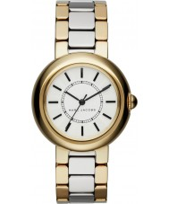 Marc Jacobs MJ3506 Ladies courtney two tone stalen armband horloge