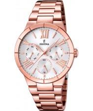 Festina F16718-1 Ladies rose goud verguld multifunctioneel horloge