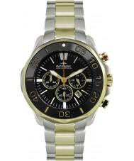 Rotary AGB00067-C-04 Mens AquaSpeed two tone chronograaf sporthorloge