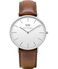 Daniel Wellington DW00100052 Dames klassieke st mawes 36mm zilveren horloge