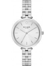 Kate Spade New York 1YRU0859 Ladies holland zilveren stalen armband horloge