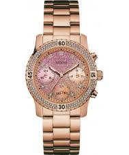 Guess W0774L3 Ladies confetti rose goud vergulde armband horloge