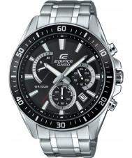 Casio EFR-552D-1AVUEF Mens bouwwerk premium silver chronograafhorloge