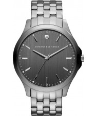 Armani Exchange AX2169 Mens jurk gunmetal stalen armband horloge