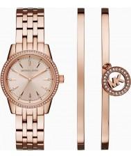 Michael Kors MK3744 Dames ritz horloge cadeau set