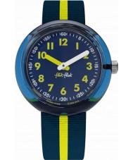 Flik Flak FPNP023 Geel band horloge