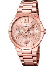 Festina F16718-2 Ladies rose goud verguld multifunctioneel horloge