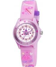 Tikkers TK0036 Meisjes roze fee prinses horloge