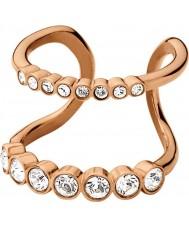 Dyrberg Kern 336965 Ladies emelia ii rose goud verguld cocktail ring
