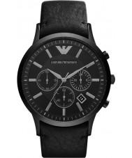 Emporio Armani AR2461 Heren Classic chronograaf zwart horloge