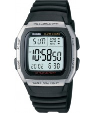 Casio W-96H-1AVES Collection alarm chronograaf