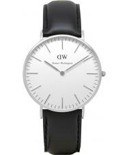 Daniel Wellington DW00100053 Dames klassieke Sheffield 36mm zilveren horloge