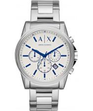 Armani Exchange AX2510 Men's jurk zilver staal chronograafhorloge