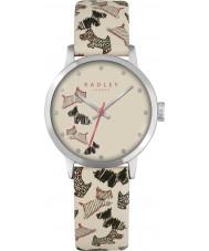 Radley RY2367 Ladies Fleet Street crème lederen band horloge