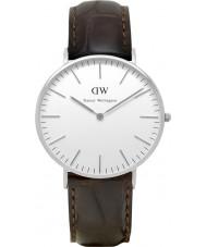 Daniel Wellington DW00100055 Dames klassieke york 36mm zilveren horloge