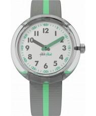 Flik Flak FPNP022 Groene band horloge