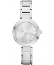DKNY NY2398 Ladies Stanhope zilveren stalen armband horloge