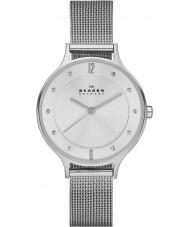 Skagen SKW2149 Ladies anita zilveren mesh horloge