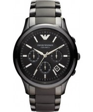 Emporio Armani AR1452 Mens keramische zwart chronograafhorloge