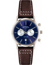 Rotary GS02730-05 Mens uurwerken sport wreker bruin chronograaf