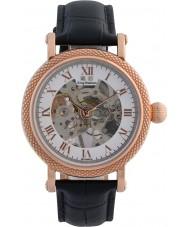 Krug-Baumen 60152DM Mens prestige zwart lederen band horloge