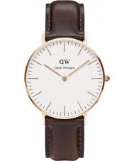 Daniel Wellington DW00100039 Dames klassieke Bristol 36mm rose gouden horloge