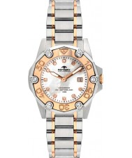 Rotary ALB00033-W-40 Ladies AquaSpeed ​​two tone horloge