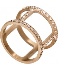 Edblad 3153441915-XS Ladies Helena cz rose goud verguld ring - maat L (xs)