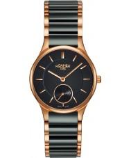 Roamer 677855-49-55-60 Ladies CERALINE zwarte keramische armband horloge