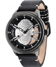 Police 14685JSB-61 Mens roofdier zwart lederen band horloge