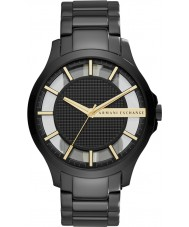Armani Exchange AX2192 Mens jurk zwarte stalen armband horloge