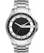 Armani Exchange AX2179 Mannen kleding zilveren stalen armband horloge