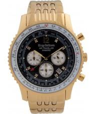 Krug-Baumen 600103DS Mens luchtreiziger diamanten horloge