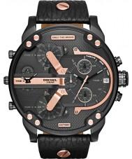 Diesel DZ7350 Mens mr daddy zwarte multifunctionele horloge