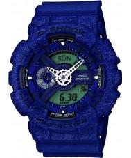 Casio GA-110HT-2AER Mens G-SHOCK wereldtijd blauw combi horloge
