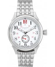 Minster 1949 MN03WHSL50 Mens Boyland zilveren stalen armband horloge