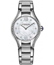 Raymond Weil 5124-STS-00985 Ladies Noemia zilver staal Diamond Watch