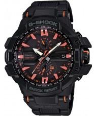 Casio GW-A1000FC-1A4ER Mens G-SHOCK premie zwarte radiogestuurde op zonne-energie horloge